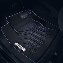 OEDRO Floor Mats Compatible with 2016-2018 Acura RDX 8-Way Power Seats