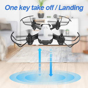 One key take off/ land