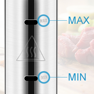 YISSVIC Sous Vide Cooker 1000W Immersion Circulator Sous Vide Vacuum Heater Accurate Temperature