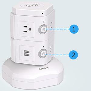 white super plug