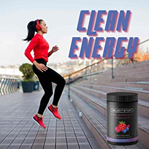 Select Start Pre Workout Immunity Clean Energy All Natural Endurance Recovery Muscle Strength