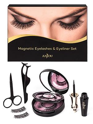 magnetic eyelashes withe eyeliner magnetic eyeliner