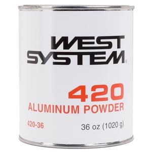 420 Aluminum Powder for modifying WEST SYSTEM Epoxy