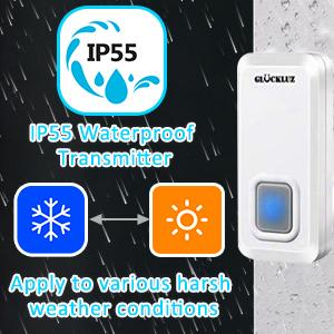 waterproof doorbells