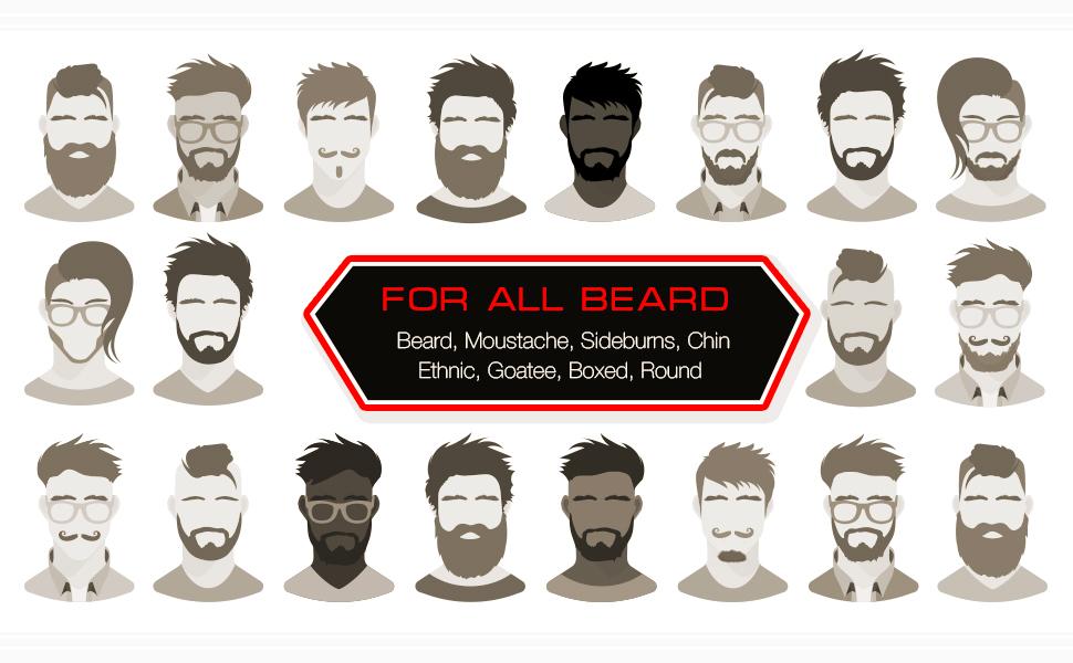 all beard type