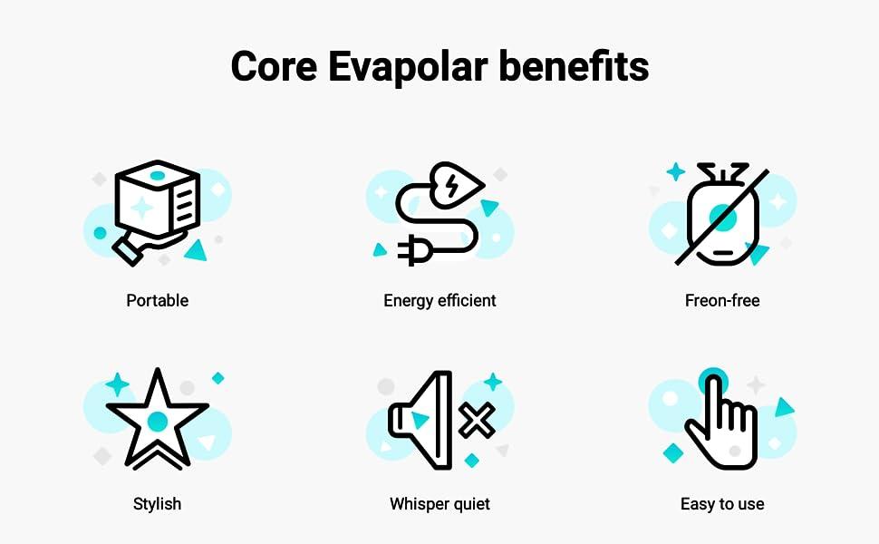 الفوائد الأساسية Evapolar