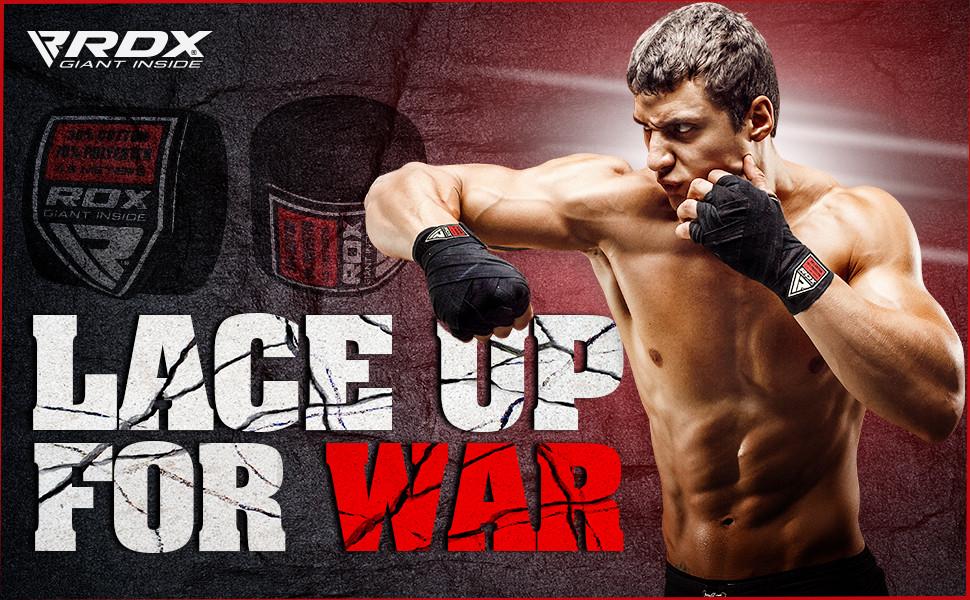 RDX Vendas Boxeo Cinta Elástico Mano Muñeca MMA 4,5 Metros Envolturas Vendaje Kick Boxing: Amazon.es: Deportes y aire libre