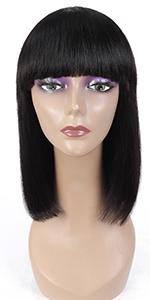 Straight Bob Human Hair Wigs