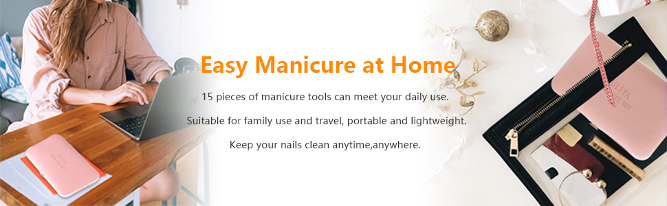 manicure set nail kit