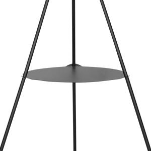 modern mid century tripod floor lamp shelf tall standing lights bedroom living room decor dimmable