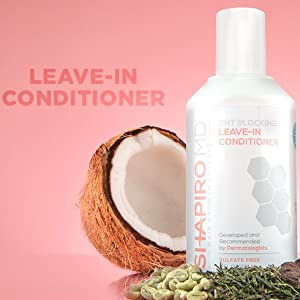 leave in conditioner hair loss shampoo women men natural paraben free