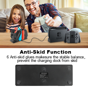 Charging Station for Nintendo Switch