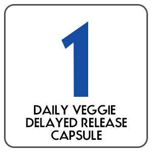 1 Daily Veggie Delayed Release Capsule