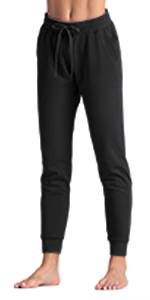 Tapered Lounge joggers for women