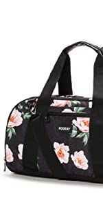 vooray burner gym duffel sport small compact shoe compartment women handbag locker duffel duffle