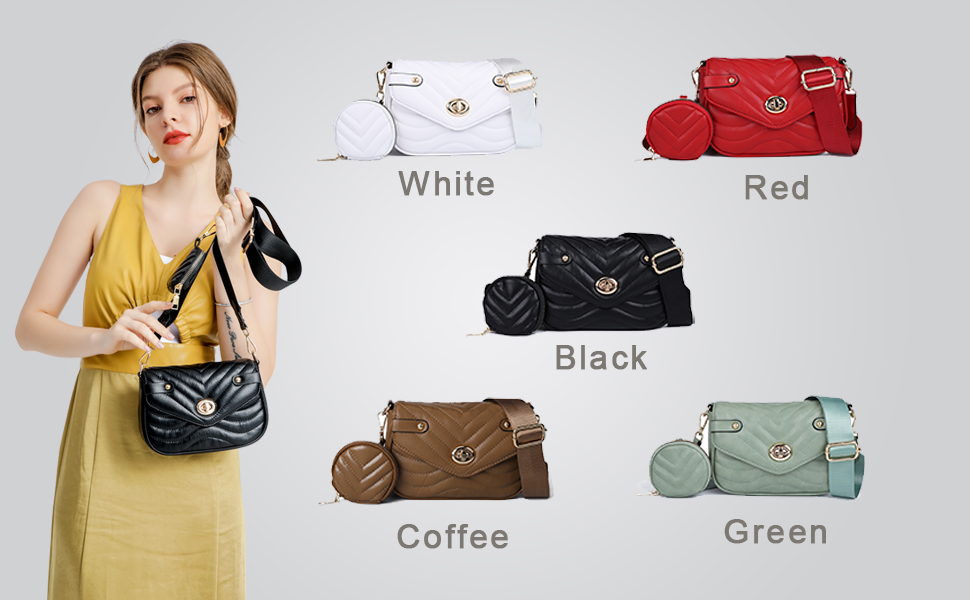 black cross bodybag womens black crossbody bags for women camera bag purse for womenblack quilted