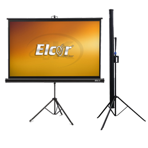 easy Carry foldable triopd projector screen