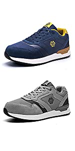 Ziboyue Safety Shoes Men Women Work Trainers Boots Steel Toe Caps Sport Sneakers Lightweight