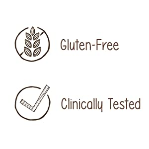 Gluten Free, Clinically Tested