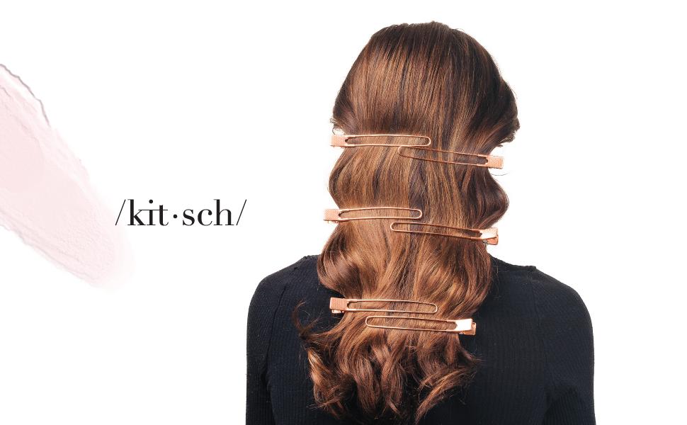 4 Packs of 6// Set Flat Hair Clip Duck Mouth Hair Clips Pro Salon Hair