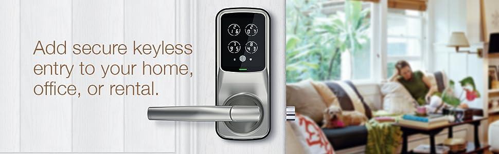 smart lock, smart lock deadbolt, smart lock latch, fingerprint lock