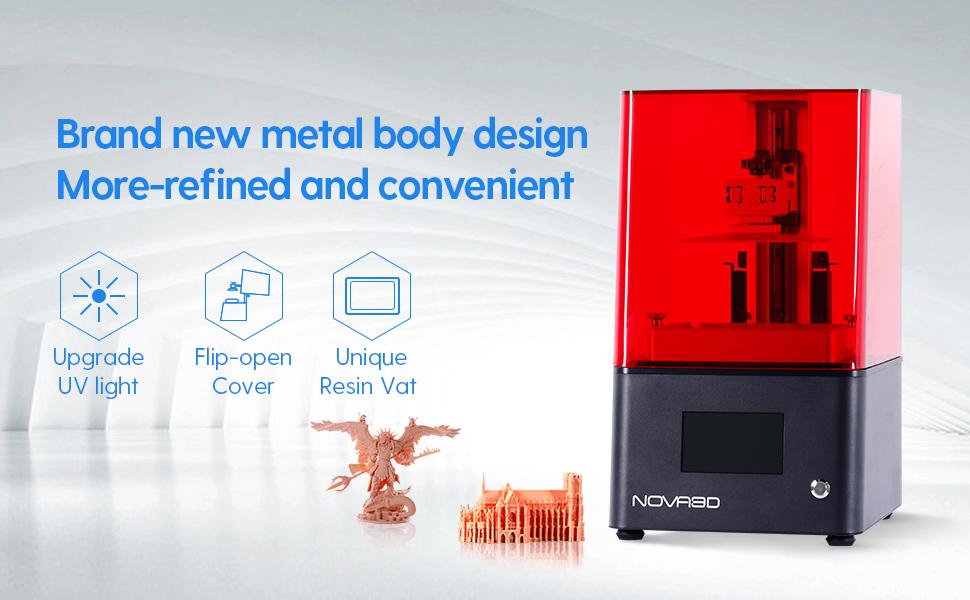 NOVA3D BENE4 Stampante 3D a Resina SLA