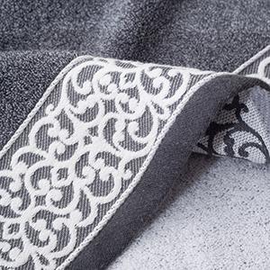 Lvse gray hand towel