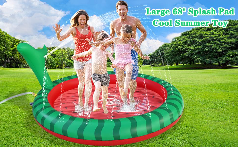 splash pad sprinkler