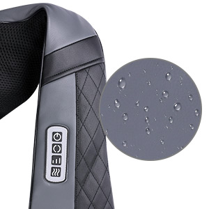 Shiatsu Back and Neck Massager with Heat, Deep Kneading Electric Massage Pillow for Shoulder