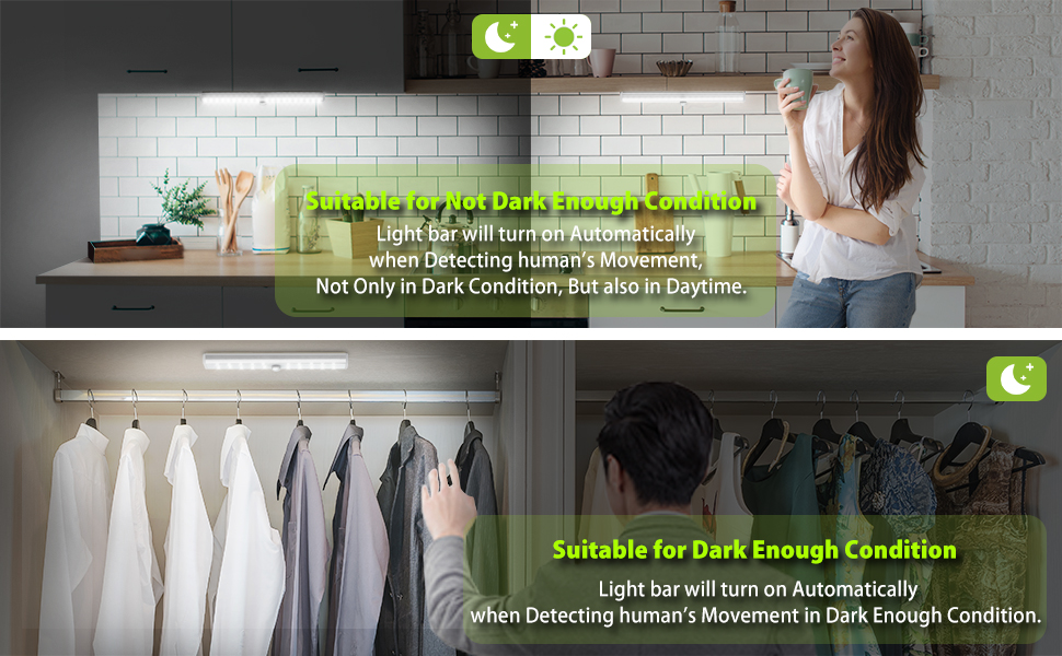 motion sensor closet lights