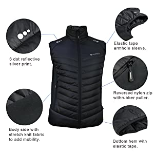 Vest details