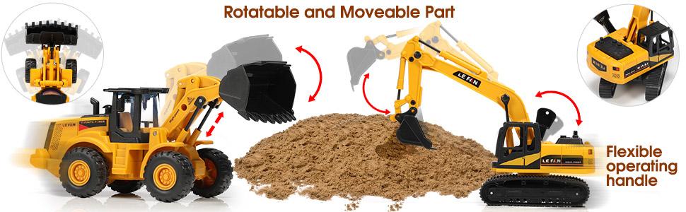 toy excavator for boys