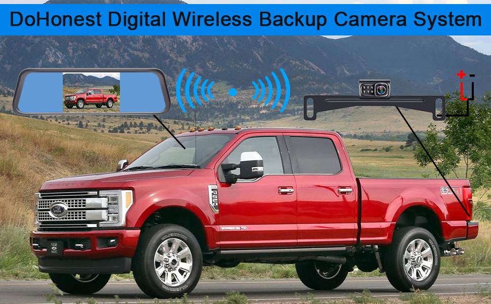wireless backup camera system