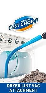 dryer vent vacuum cleaner