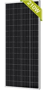210W Mono Solar Panel