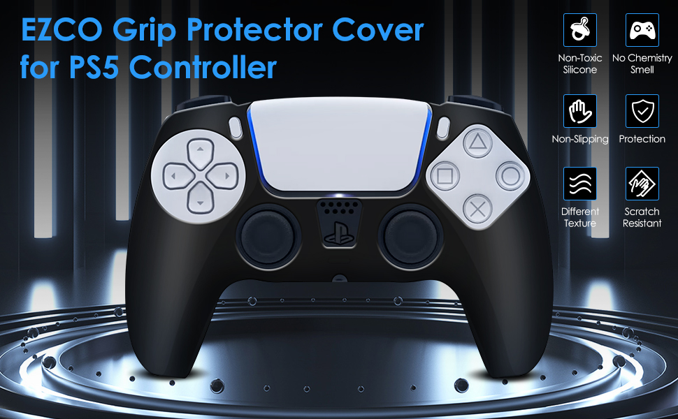 ps5 controller skin protector