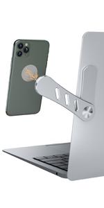 Adjustable Laptop Stand, Laptop Phone Holder, Laptop Side Mount Clip