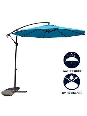 Table Market Hanging Umbrellas