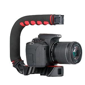 Pro Video Stabilizing Handle Grip for Vertical Shoe Mount Stabilizer Handle mju 750 Digital Olympus Stylus 750