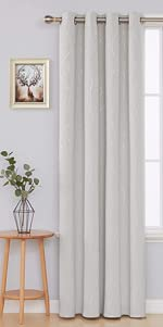 silver coating curtains