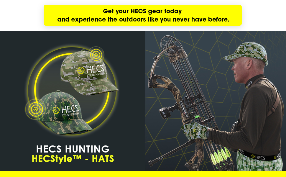 Get Your HECS Gear today Hecstyle Hats