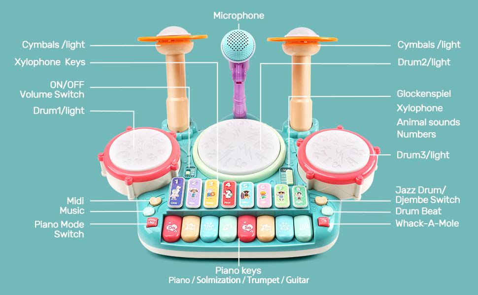 drum set toy