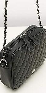 bolso bandolera negro, bolso bandolera mujer, bolso noche, misako, accesorios mujer, bolso pequeño