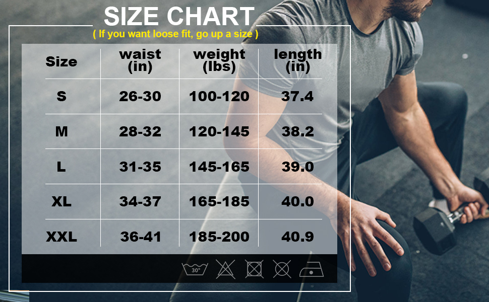 Men's Lightweight Gym Joggers, Mens Slim Fit Running Pants with Zipper Pocket for Training Workout