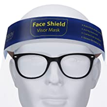 a fit over design our face shields fit right over your everyday glasses comfortably with no hassle
