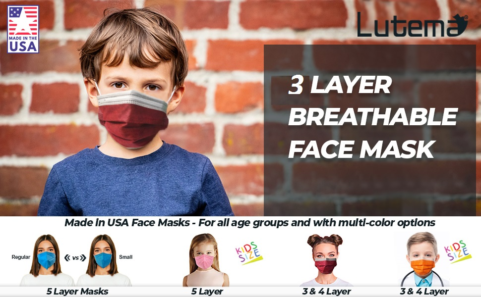 face mask made in the usa only