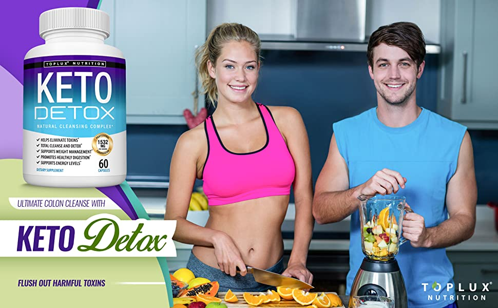 keto detox cleanse toplux supplement ketosis ketogenic