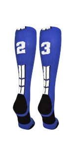 Football Number Socks