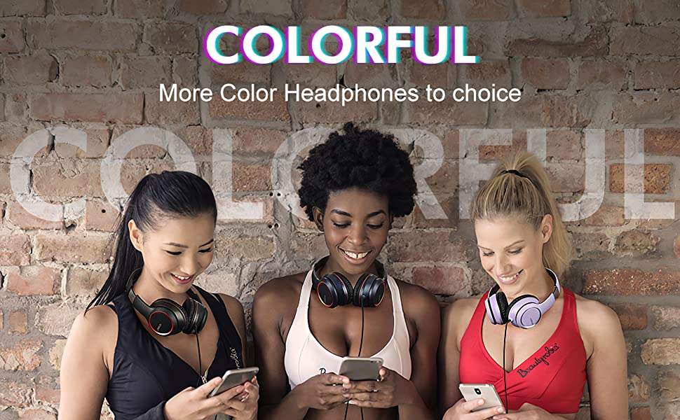 X8 More Colorful headphones