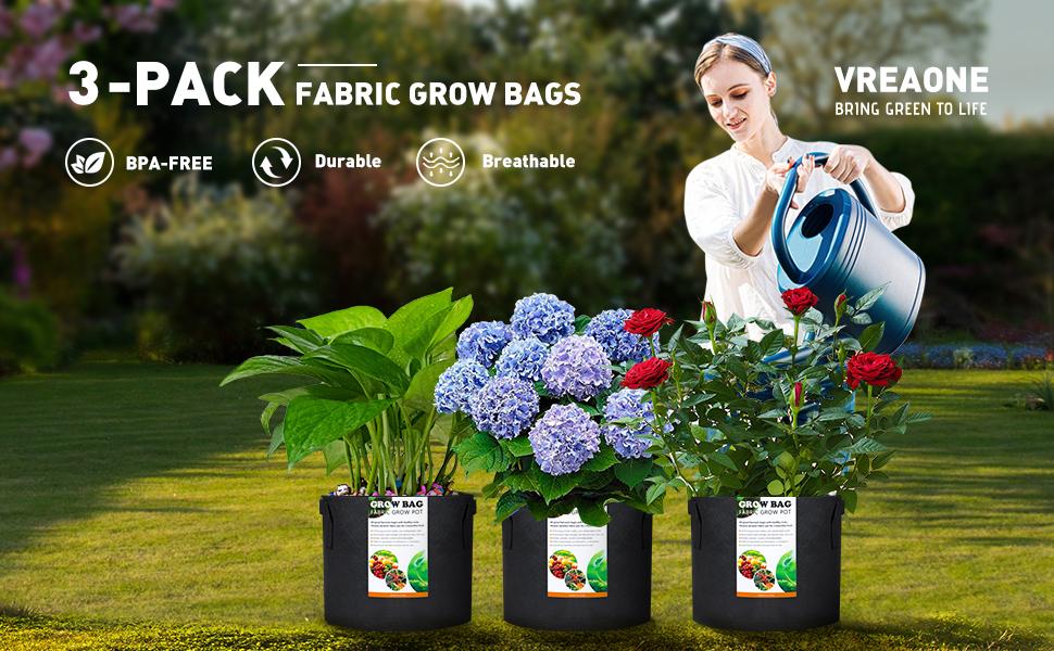 5 Gallon Grow Bags